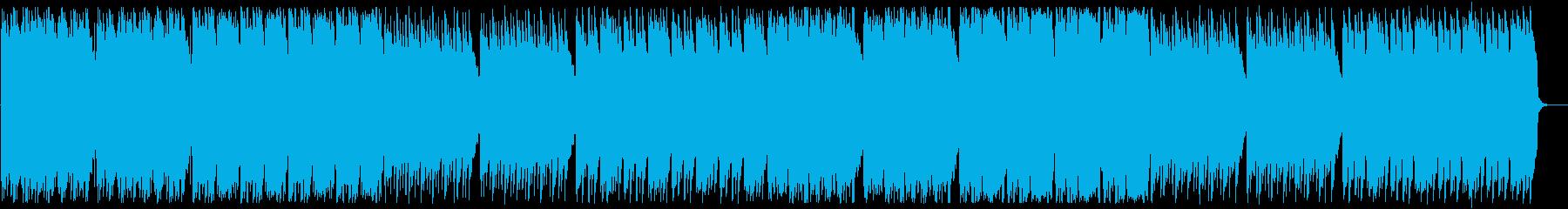 ゆっくりと時が流れていくようなポップスの再生済みの波形