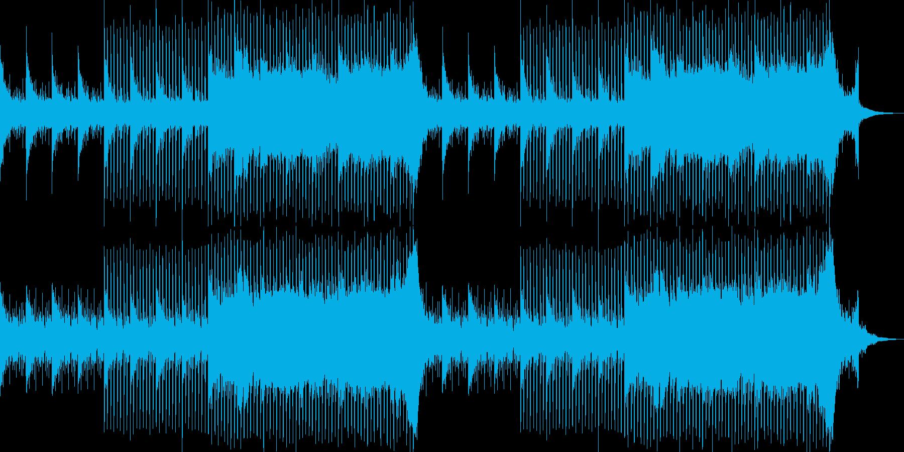 企業VP系29、爽やかギター4つ打ち8aの再生済みの波形