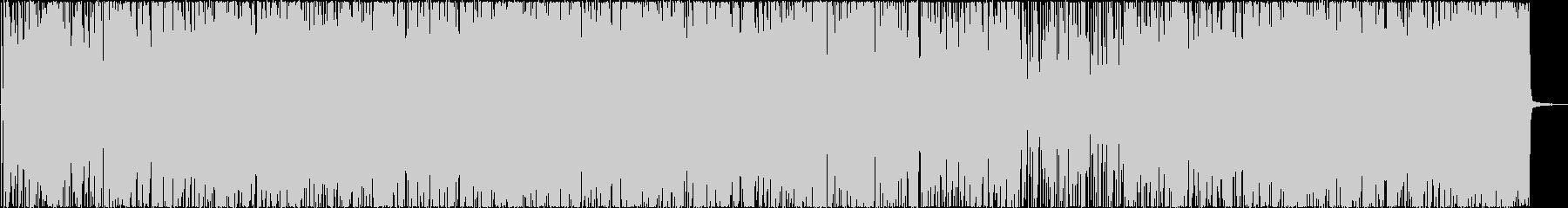 おしゃれなリズミック系ジャズの未再生の波形