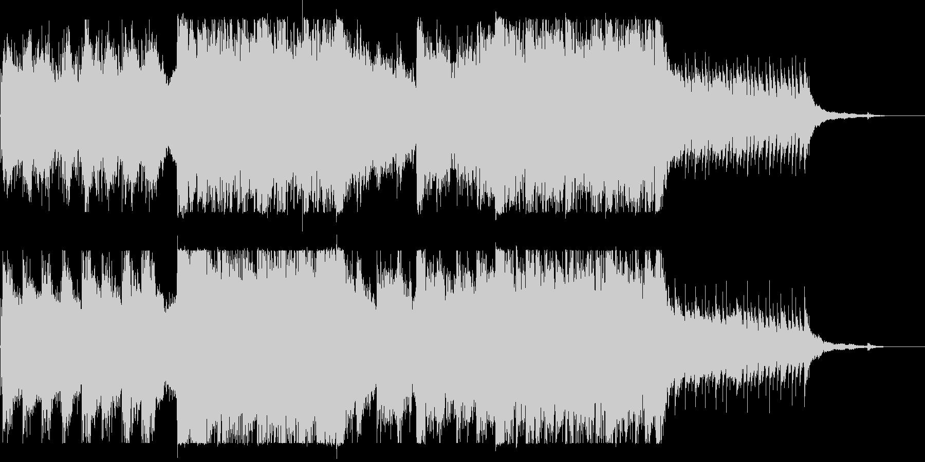 ピアノ旋律・恐怖・ホラー・サスペンスの未再生の波形