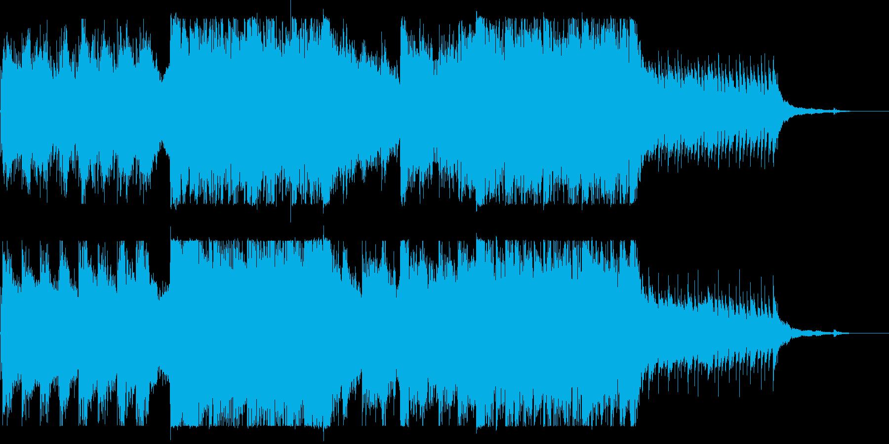 ピアノ旋律・恐怖・ホラー・サスペンスの再生済みの波形
