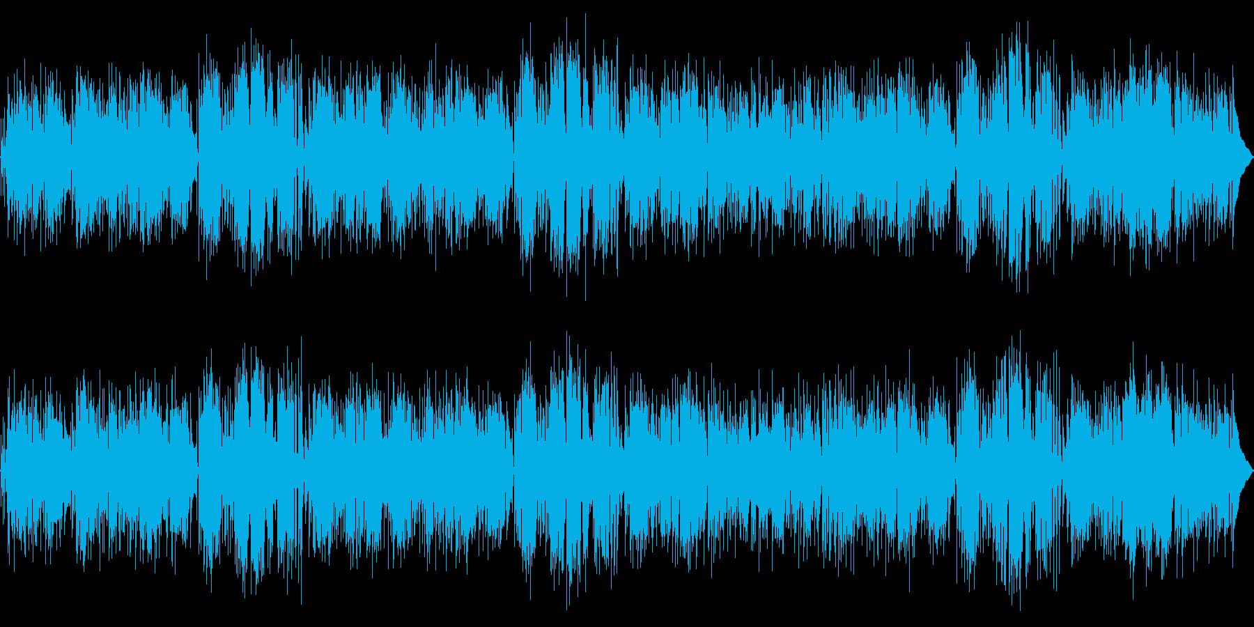 ほのぼのボサ ポップスの再生済みの波形