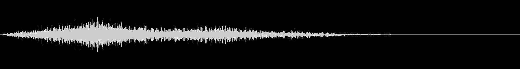 ソフトグリットフーズ1の未再生の波形