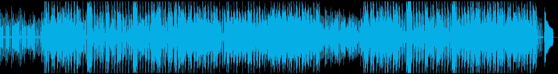 口笛とエレピののんびりとした気楽なBGMの再生済みの波形