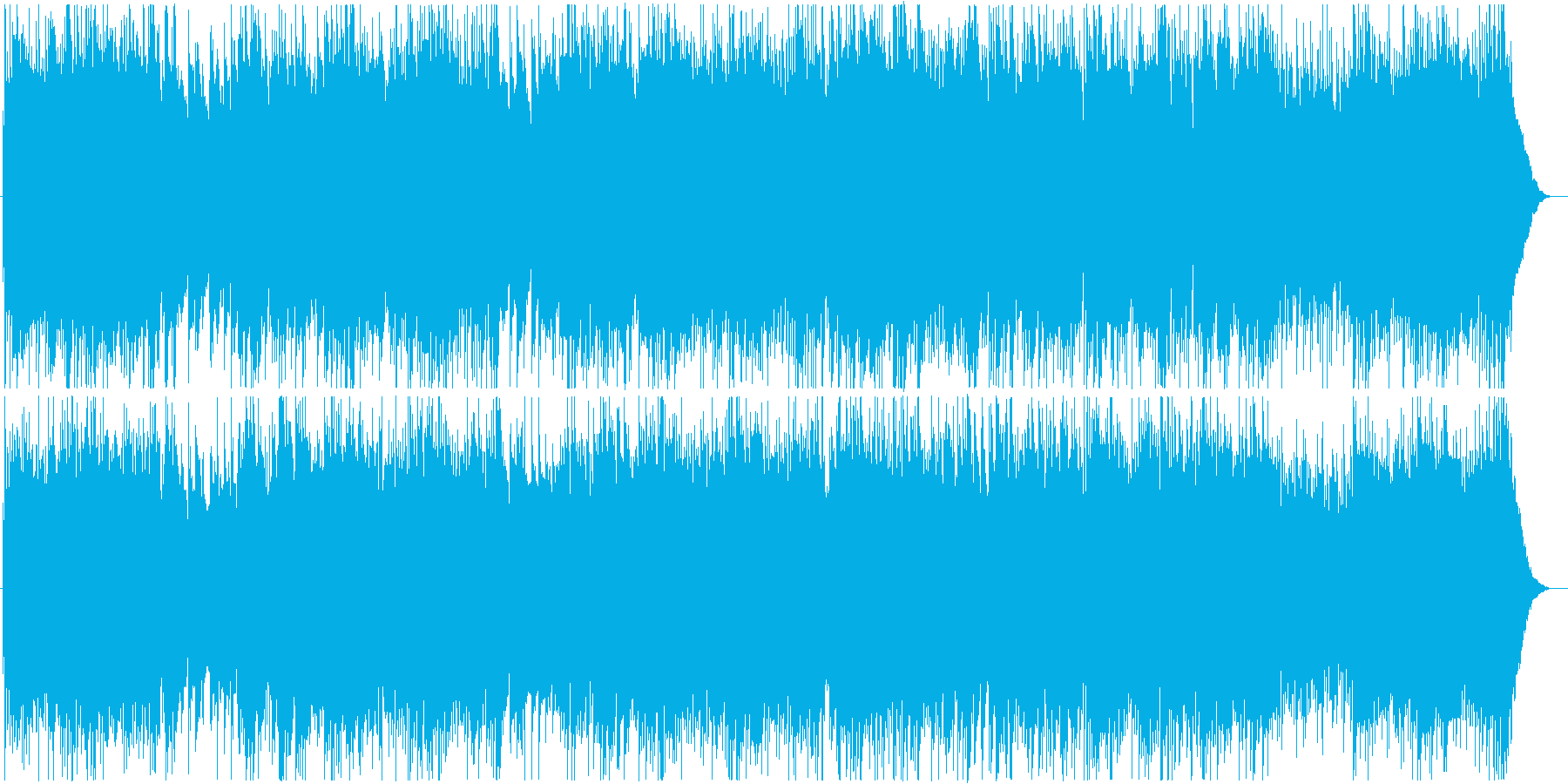 【アコギ】式典にふさわしいクラシックの再生済みの波形