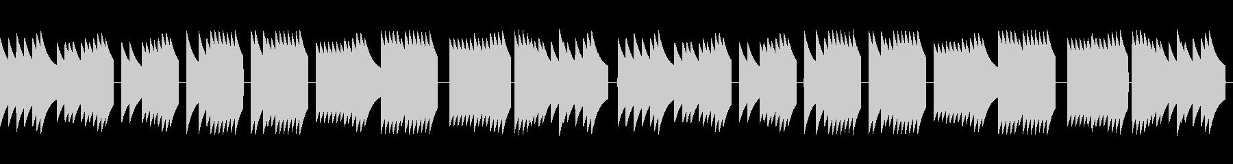 歩行者用信号機の音_とおりゃんせ_02の未再生の波形