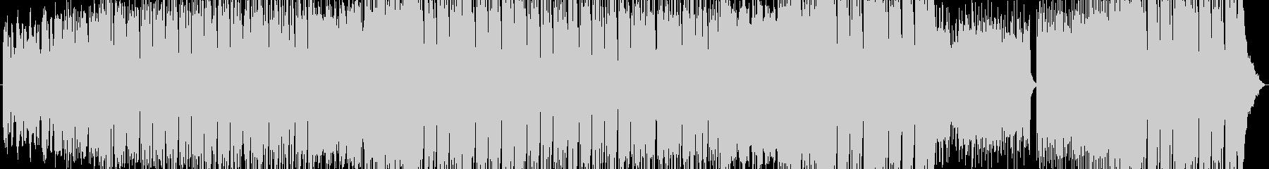 ミドルテンポの煌びやかエレクトロソングの未再生の波形