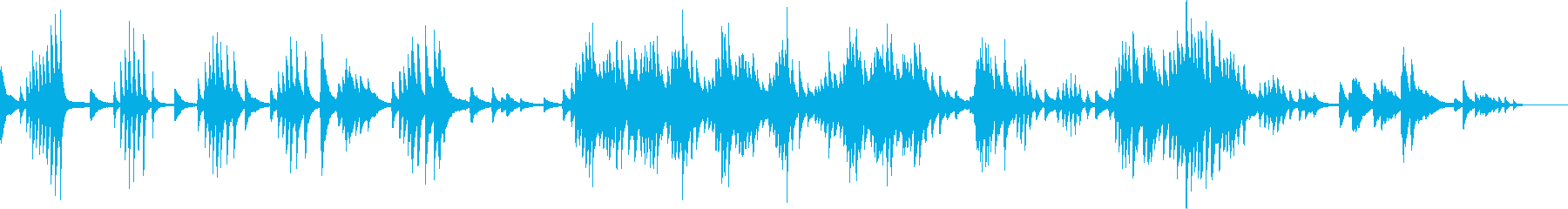 切なくて幻想的なピアノBGM(生演奏)の再生済みの波形