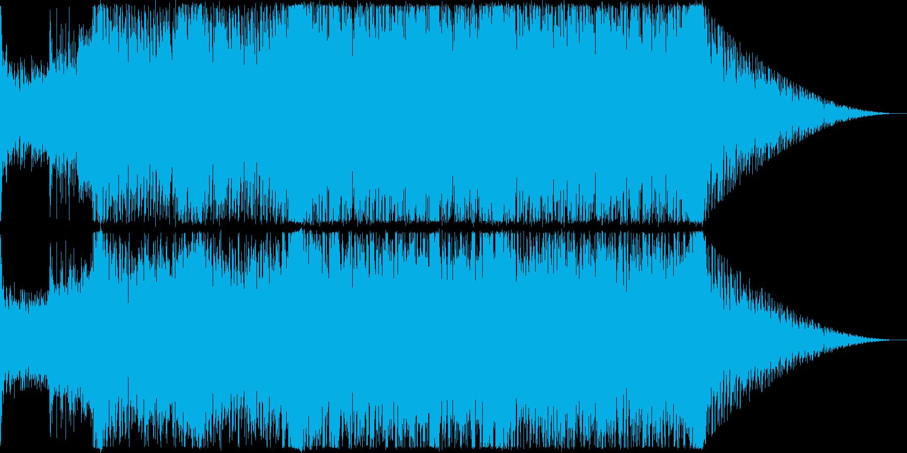 ストリングスとトランスを合わせた開幕感の再生済みの波形