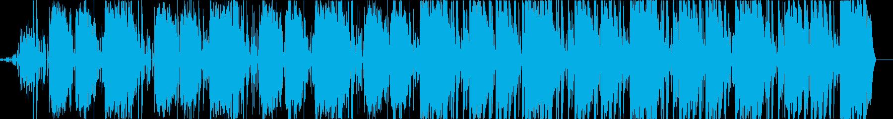 クールで現代的、CMや最適なエレクトロの再生済みの波形