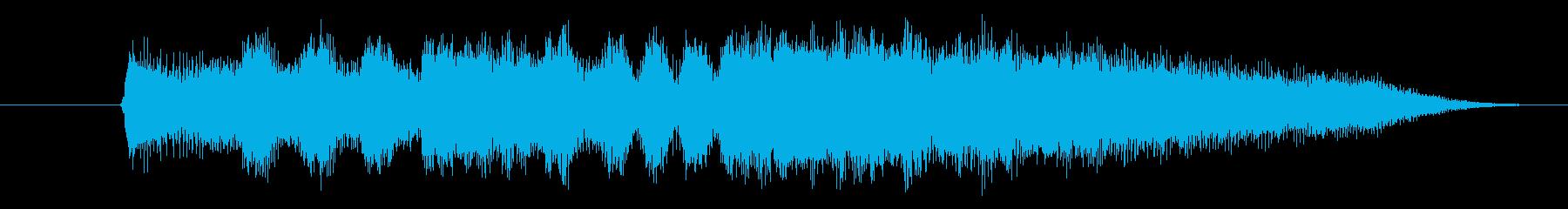 ファンファーレです。の再生済みの波形