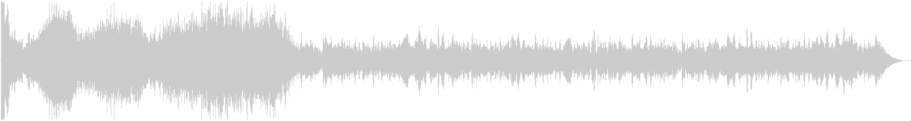 イメージ アタックハイ01の未再生の波形