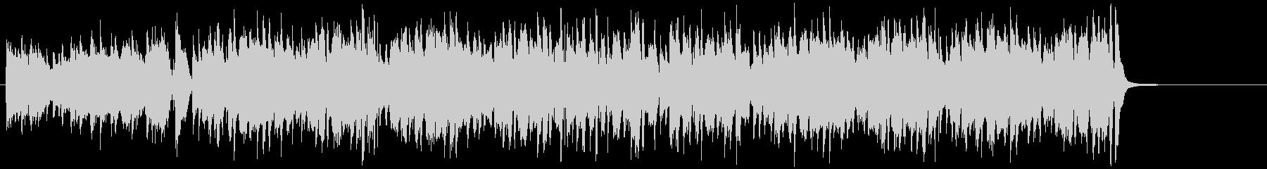 コミカルなバイオリンのジプシージャズの未再生の波形