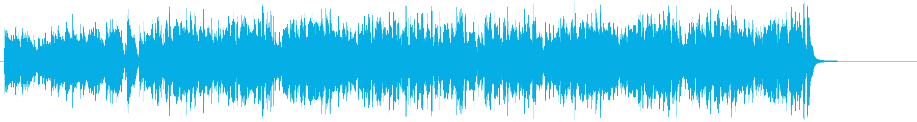 コミカルなバイオリンのジプシージャズの再生済みの波形