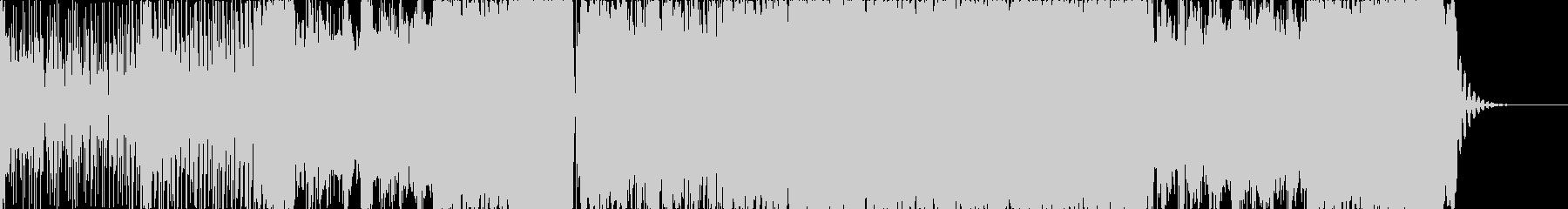 シンプルなコンプレクストロの未再生の波形