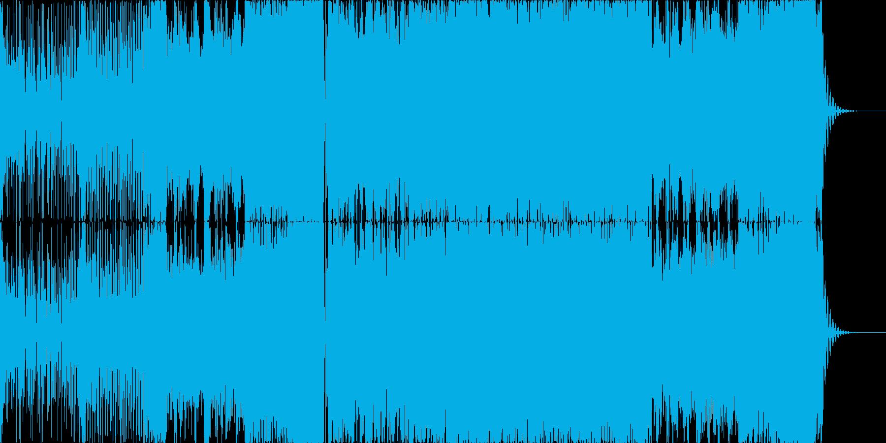 シンプルなコンプレクストロの再生済みの波形