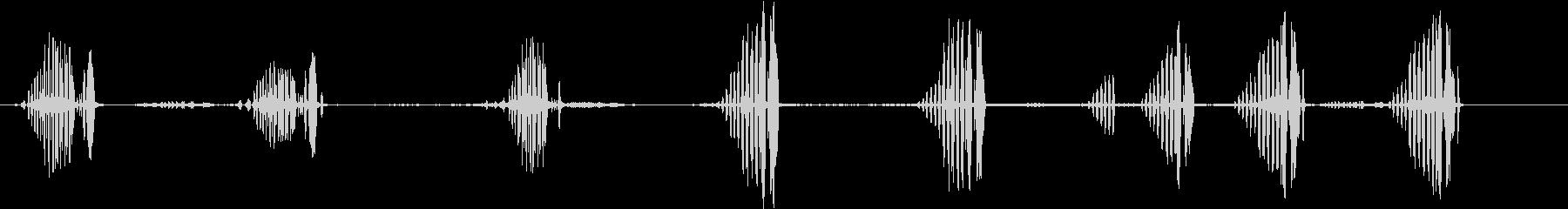 フィンチの未再生の波形