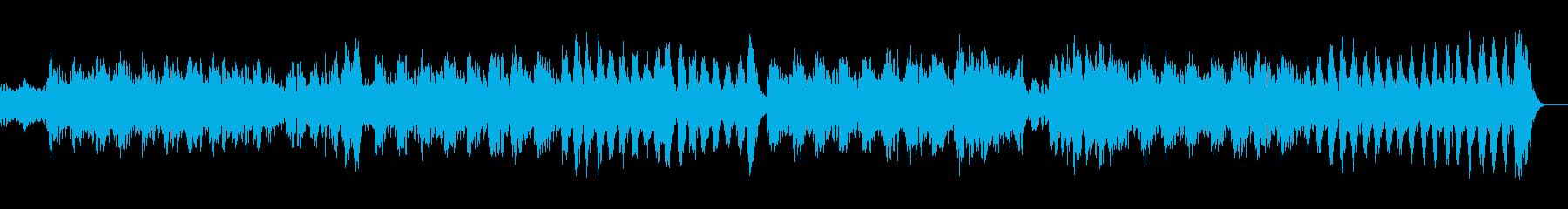 悲しげなピアノのメロディーのインストの再生済みの波形