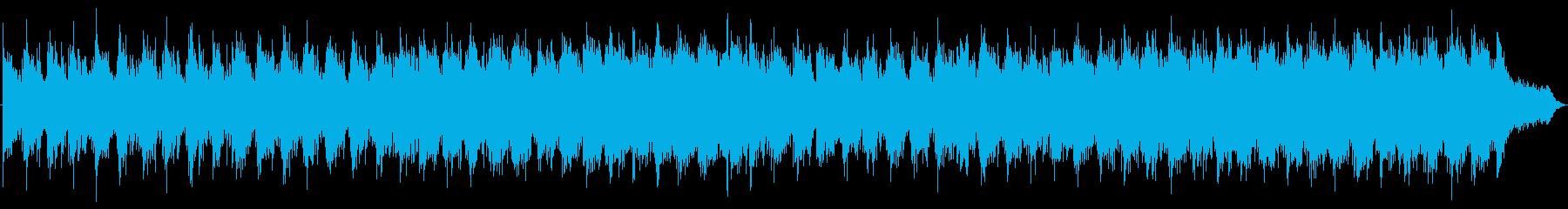 穏やか ヒーリング エレクトロニカの再生済みの波形