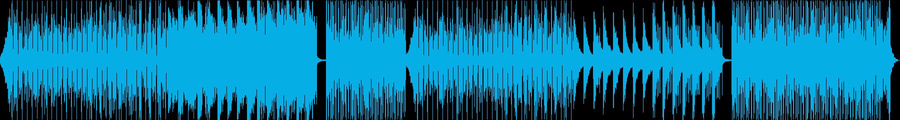 KPOP・ドライブ・ムーディーダンサブルの再生済みの波形