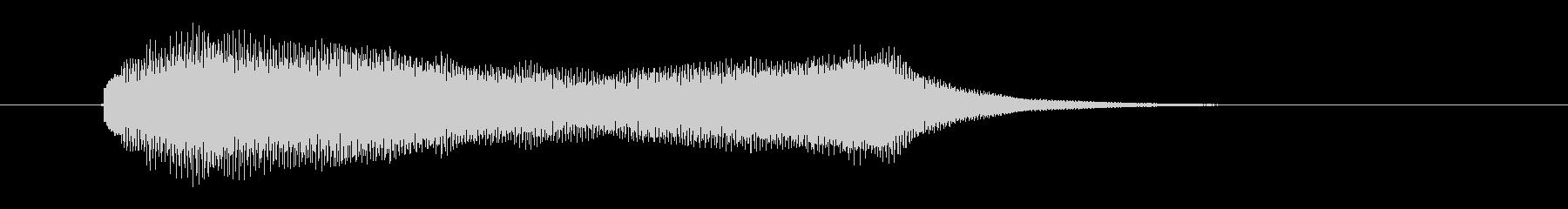 ポローン(透明感、爽やか)の未再生の波形
