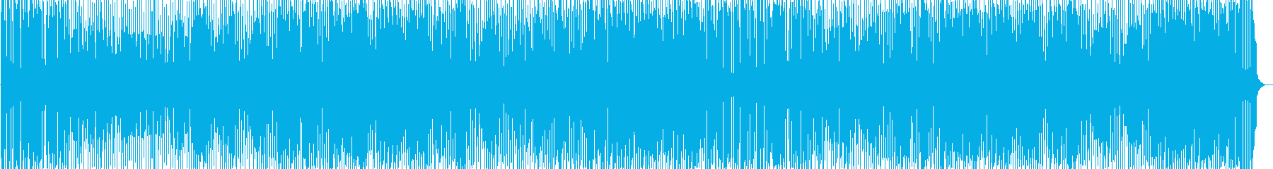 Bright and cheerful pleasant BGM's reproduced waveform