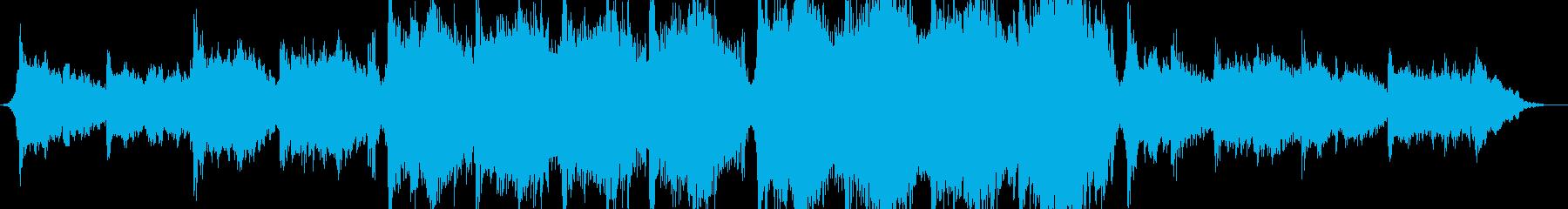 オーケストラパーカッション磁気叙事詩の再生済みの波形