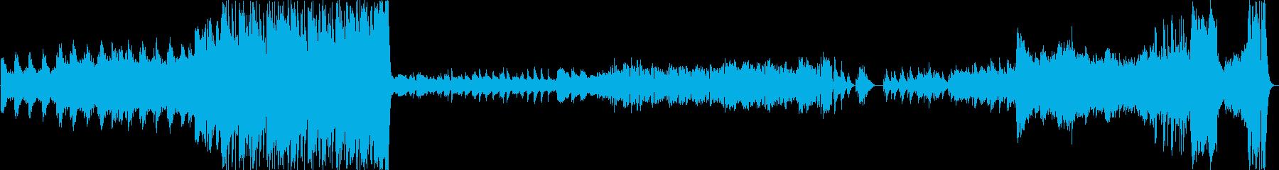 勇壮~哀愁まで/オーケストラ風メドレーの再生済みの波形