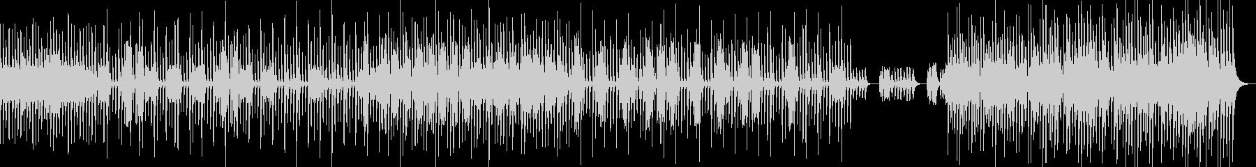 シリアス&ミステリアスなナンバーの未再生の波形