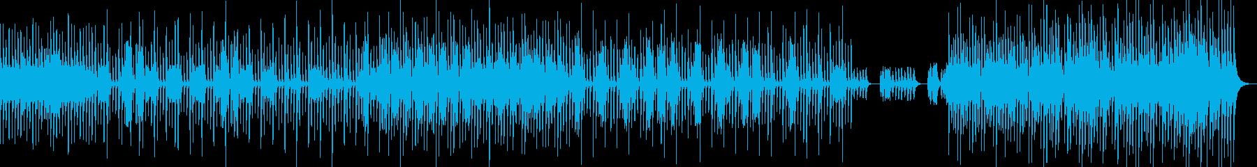シリアス&ミステリアスなナンバーの再生済みの波形