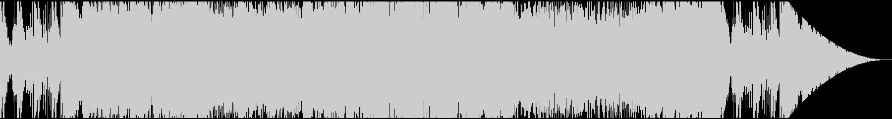 ネオクラシカルなRPGフィールドバトル曲の未再生の波形