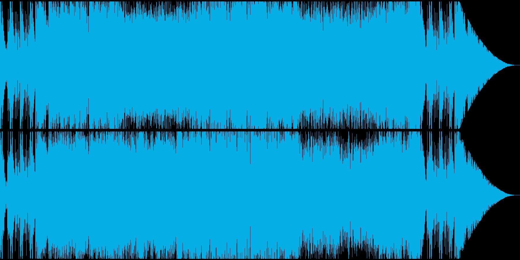 ネオクラシカルなRPGフィールドバトル曲の再生済みの波形