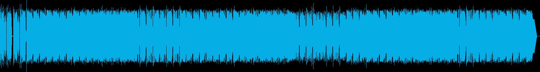 ギターのフレーズが独特な曲ですの再生済みの波形