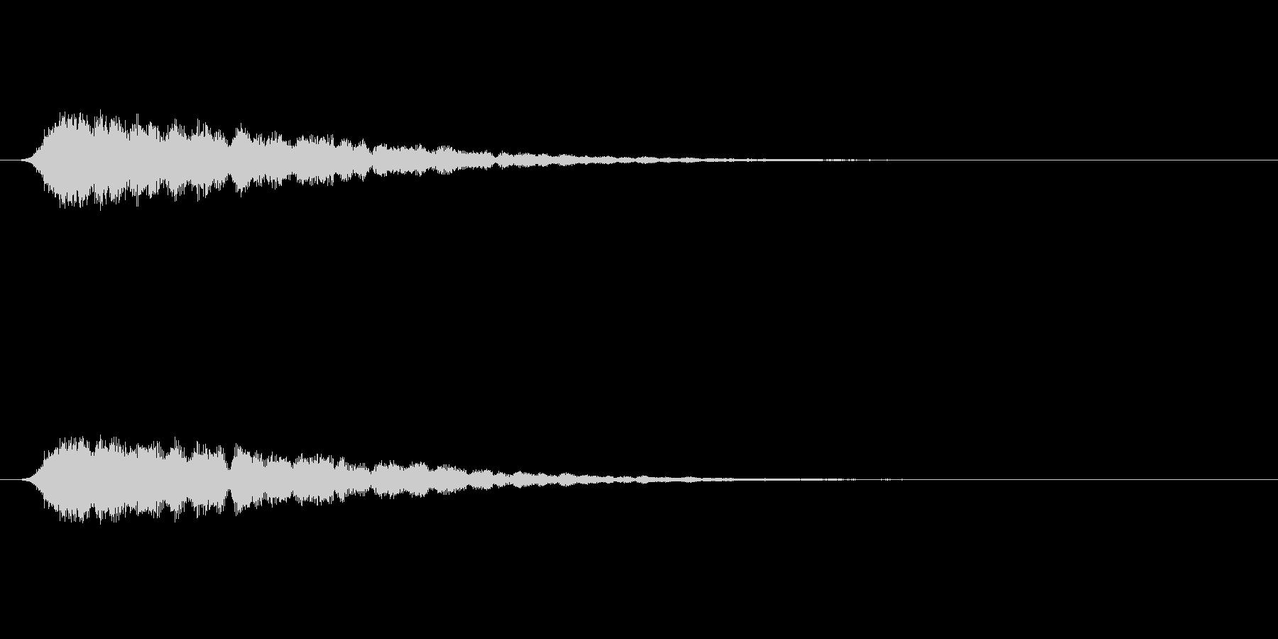 【ショートブリッジ23-1】の未再生の波形