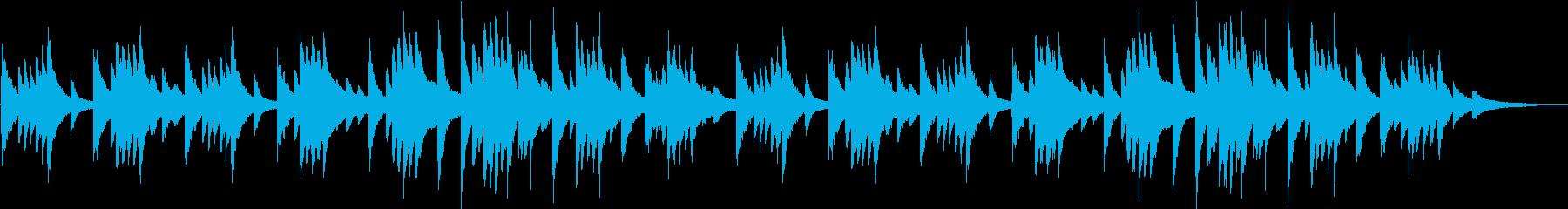 賛美歌・いつくしみ深きのピアノBGMの再生済みの波形