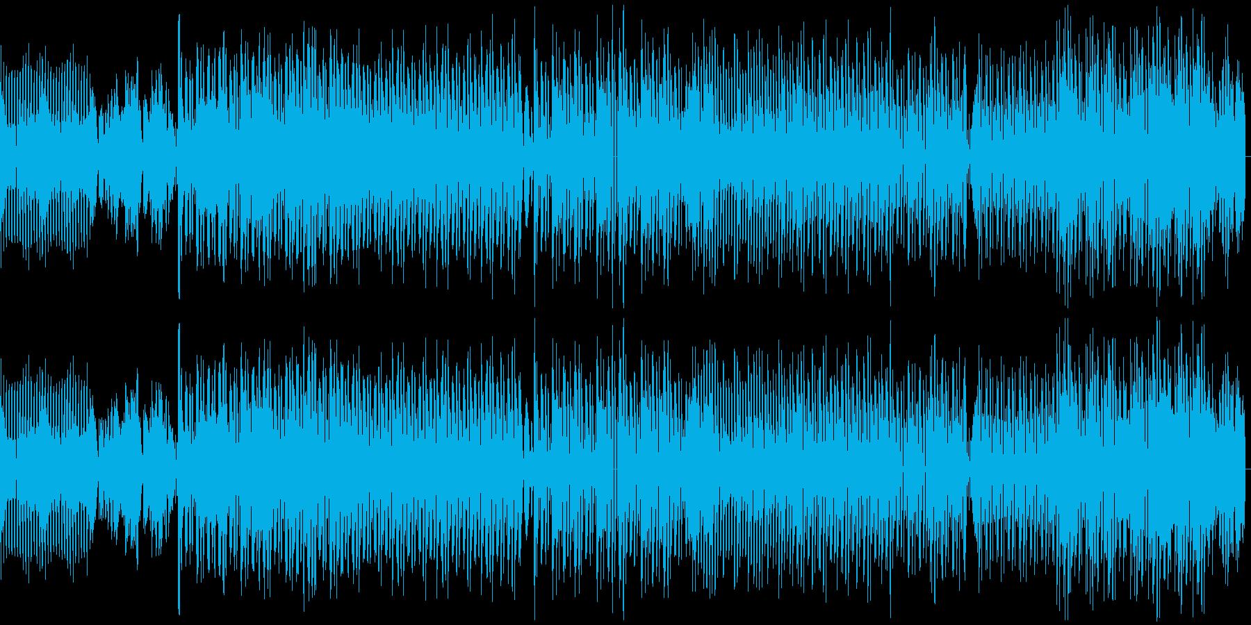 おもちゃっぽい雰囲気のDnBインストの再生済みの波形