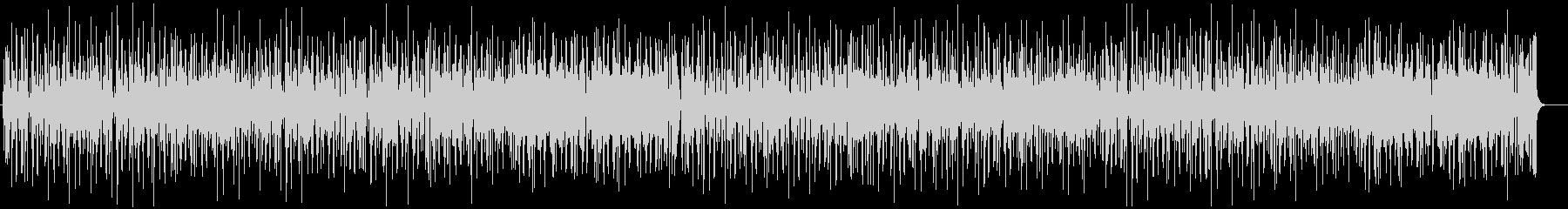 ファンキーでリズミカルなオルガンインストの未再生の波形