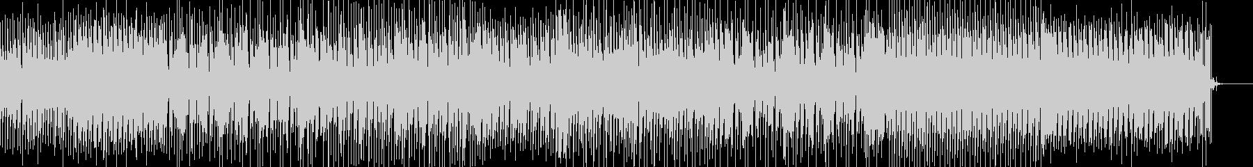 オリエンタルな響きのダブステップBGMの未再生の波形