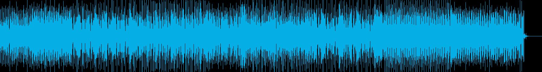 オリエンタルな響きのダブステップBGMの再生済みの波形