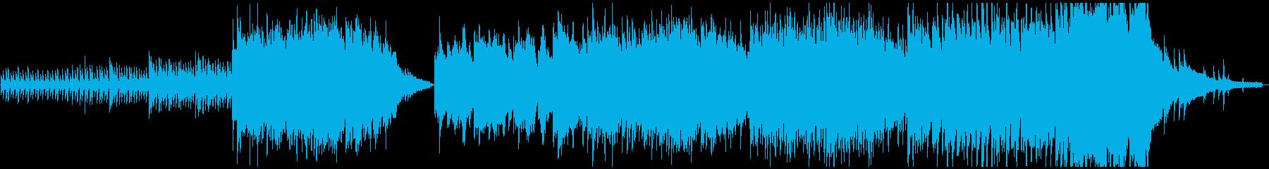 しっとりと厳かな和風ピアノBGMの再生済みの波形