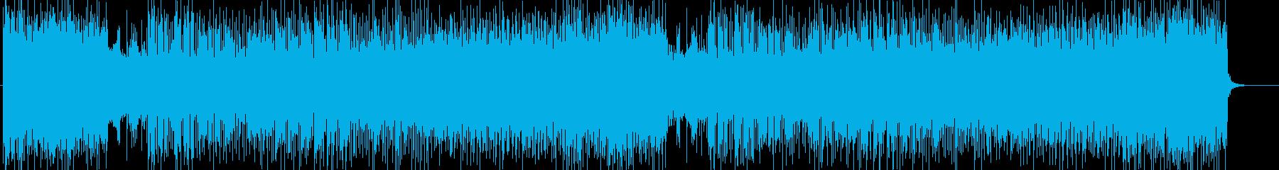「HR/HM」「POWER」BGM209の再生済みの波形