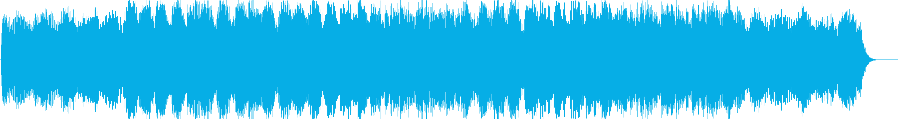 Transparent and gentle BGM's reproduced waveform