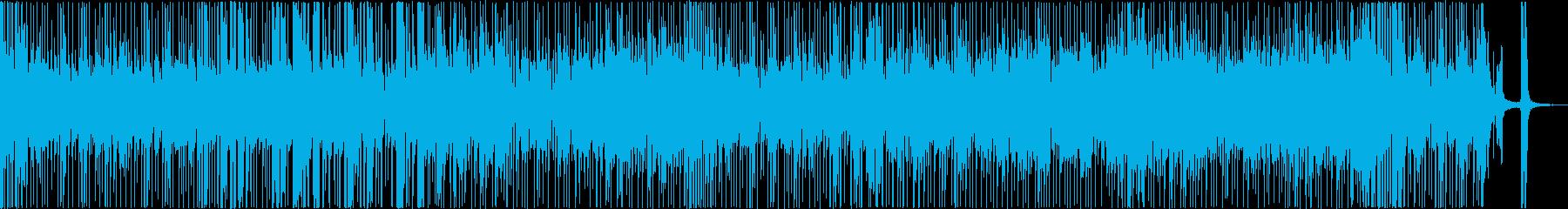 クールでお洒落な活気あるファンクスターの再生済みの波形
