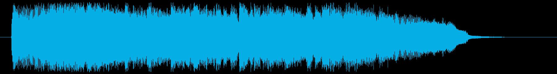ムーディー&セクシーな大人のジングルの再生済みの波形