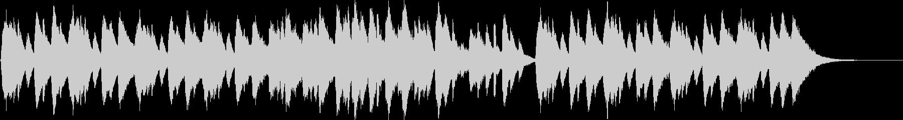 ホラー楽器。催眠的でスペーシーなピ...の未再生の波形