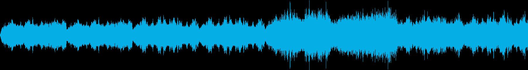 ストリングスの不気味な楽曲の再生済みの波形