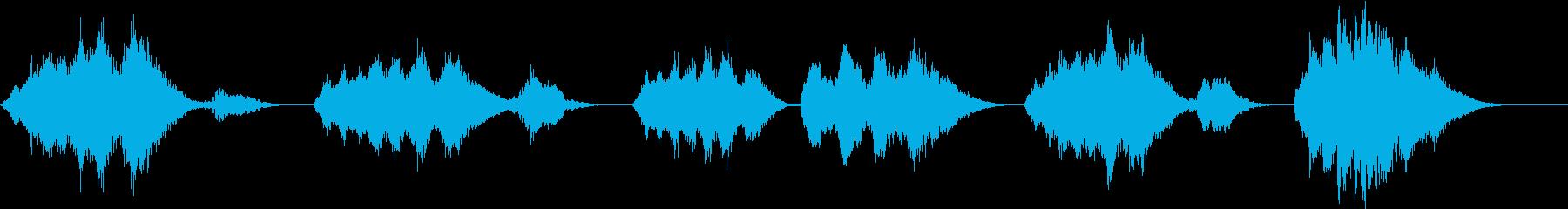 きらきら星 現代ジャズ風 ストリングスの再生済みの波形