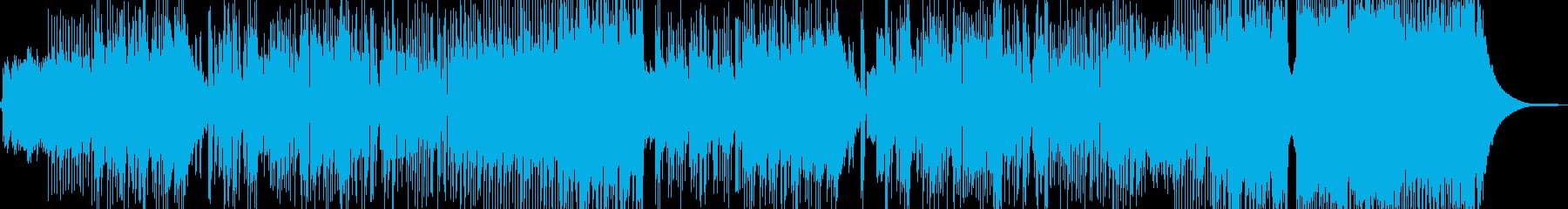 新鮮な空気感を演出・クールなロック Aの再生済みの波形