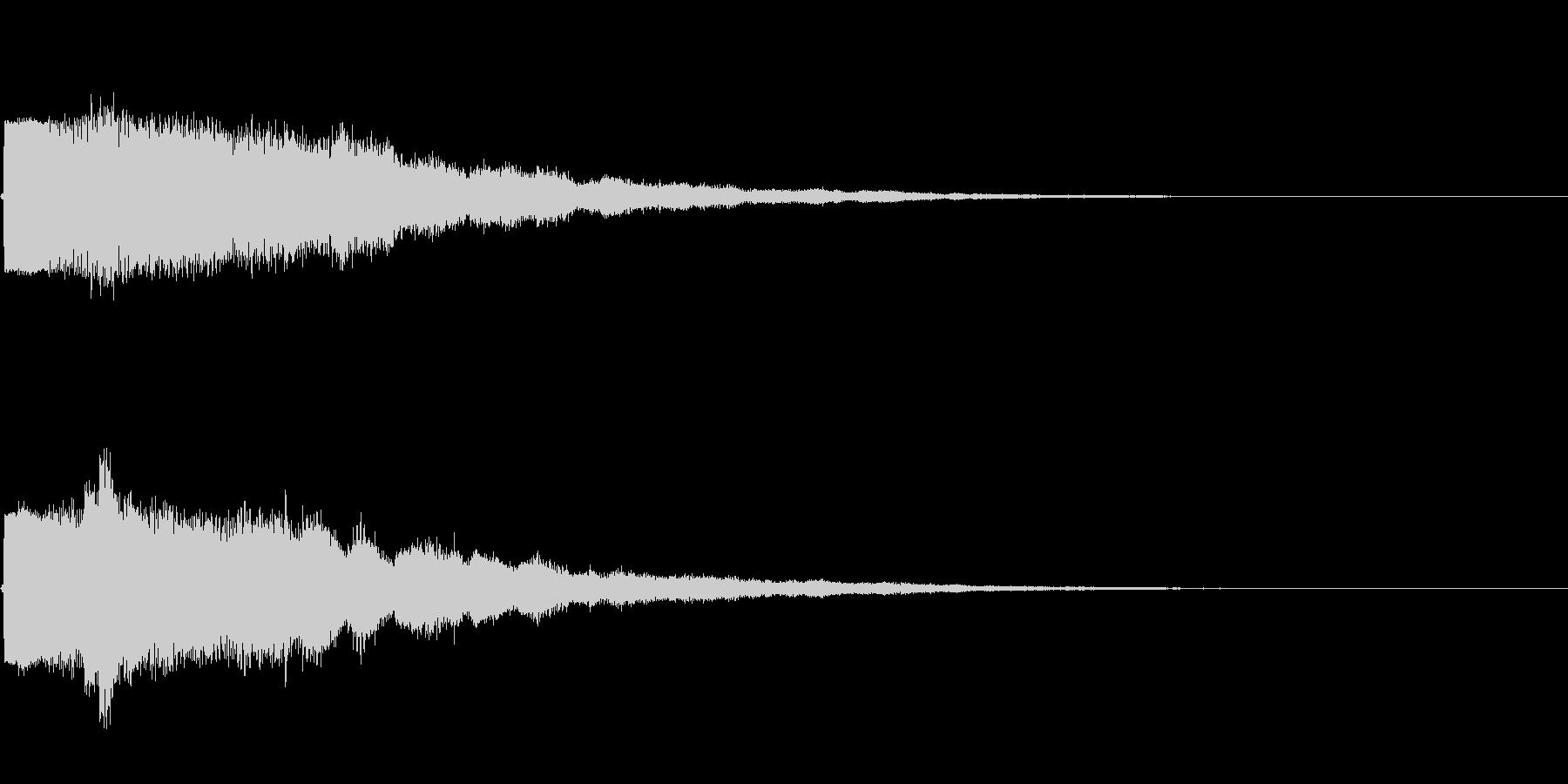 KANTベルアイキャッチ2009181の未再生の波形