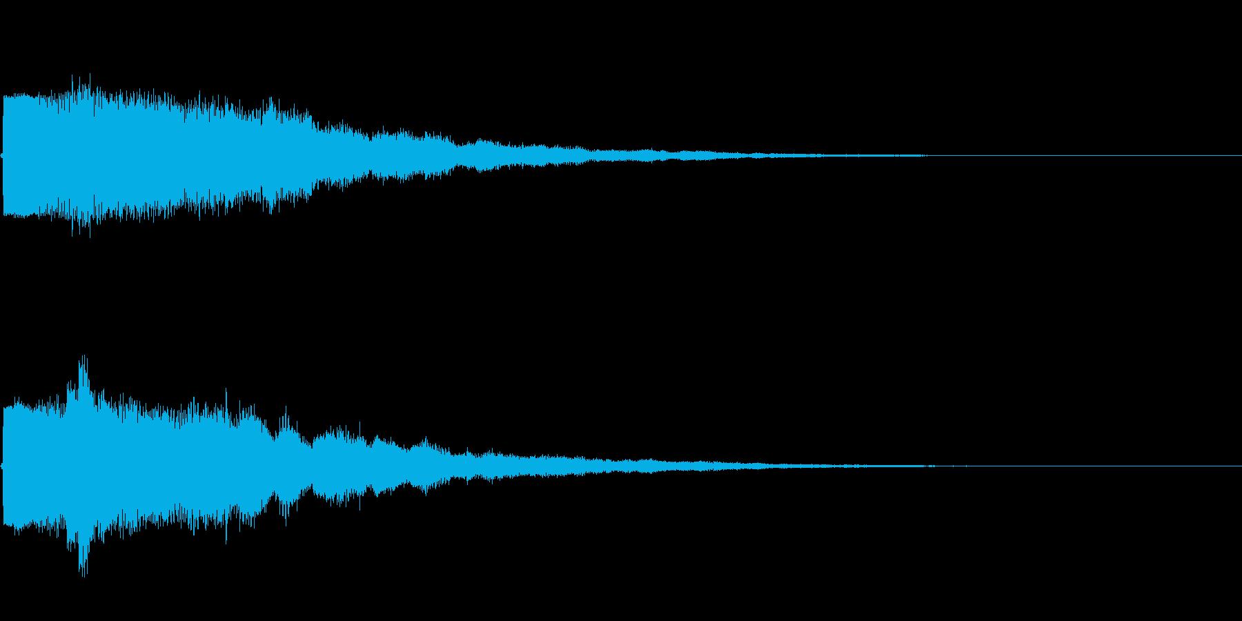 KANTベルアイキャッチ2009181の再生済みの波形
